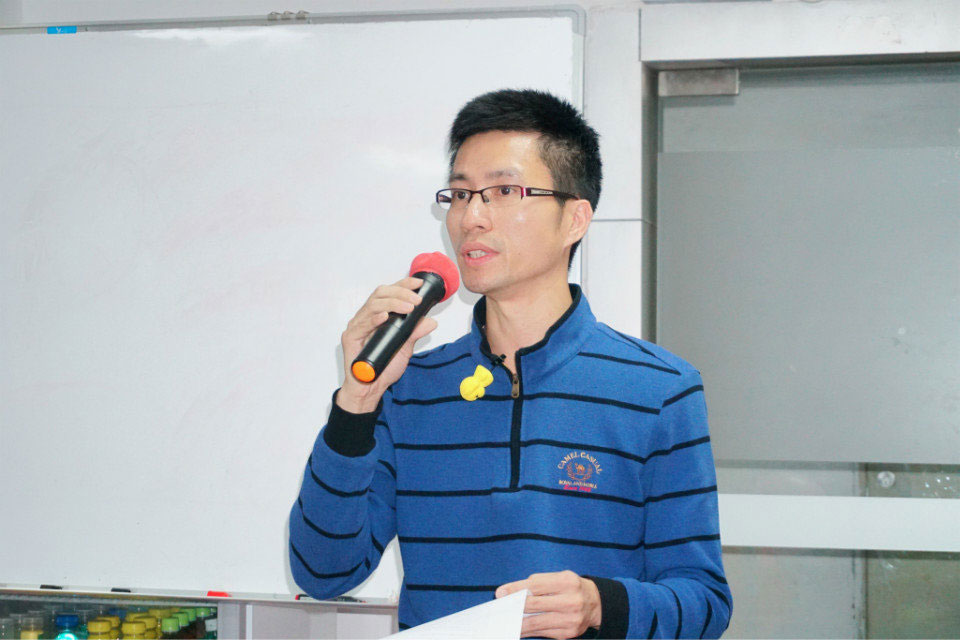 易网集团行政总监郑总讲话