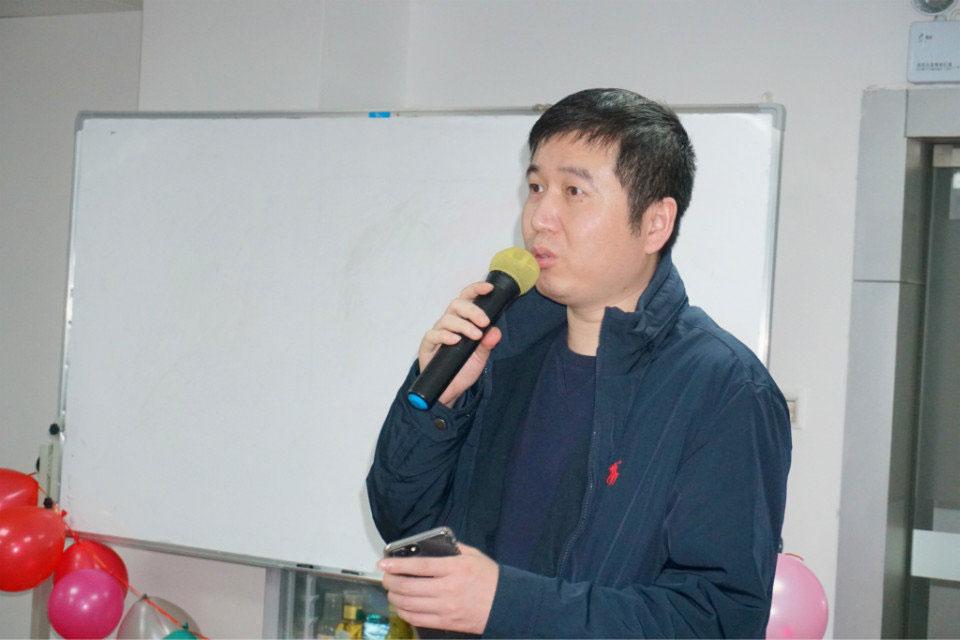 易网集团联合创始人朱总讲话