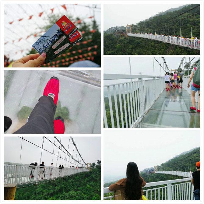 易网能人纷纷踏上了玻璃桥
